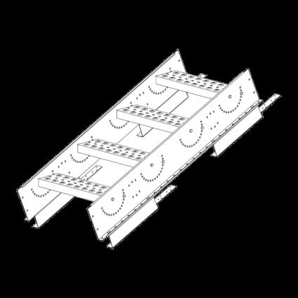 Лестница-крыльцо PRESTIGE ZN 485 (1,2м) композит