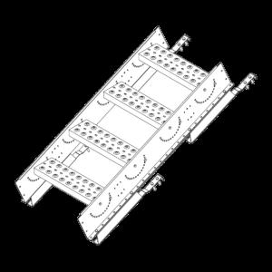 Лестница-крыльцо PRESTIGE ZN 485 (1,2м) натур