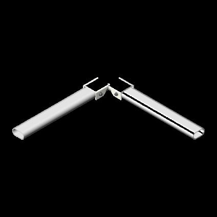 Угловое соединение труб ограждения PROMO ZN
