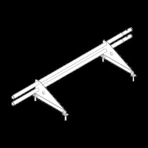 Снегозадержатель ECONOM d-25 (круг) 1,2м Еврокровля м(ч